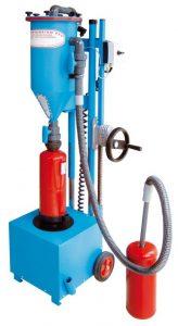Tolva de polvo para la recarga de extintores PFF-FLIPP-EK