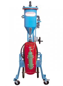 Máquina para la recarga de extintores de polvo mediana PFF-III/SWN-50