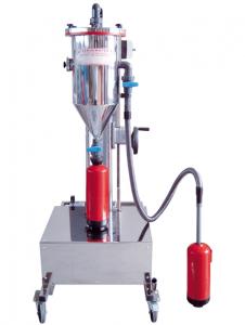 Máquina para la recarga de extintores en acero inoxidable, modelo PFF-III/SWN-50-ES