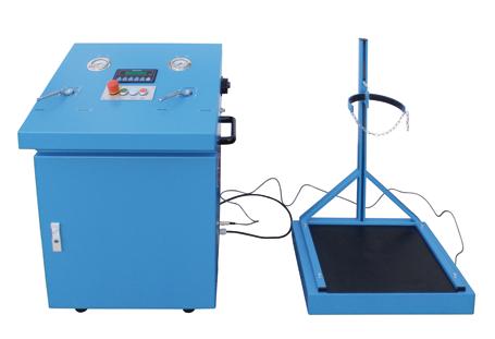 Máquina para el trasvase de CO2 estacionaria –modelo KU4