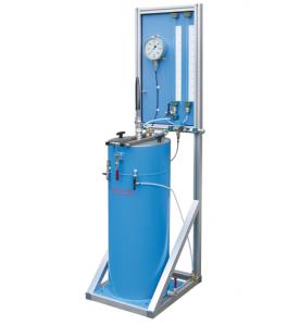 Máquina para la prueba volumétrica