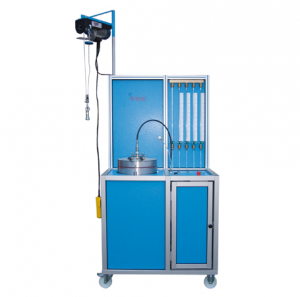 Máquina para la prueba volumétrica automática