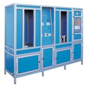 Máquina para la prueba de alta presión automática
