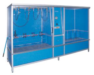 Instalación de prueba hidráulica de baja presión con secado, modelo ND4-TR4