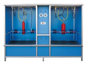 Instalación para la prueba de alta y baja presión estacionaria - HD-ND-3+3