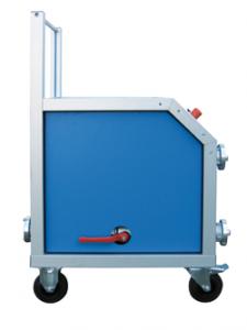 Máquina móvil para la prueba de BIES con secado
