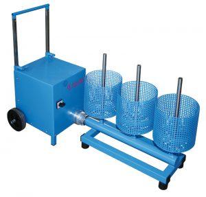 Máquina de secado portátil para extintores y BIES