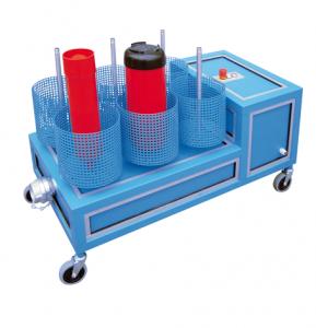 Máquina de secado para extintores y BIES