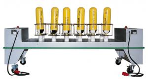 Instalación de secado potente para 12 botellas