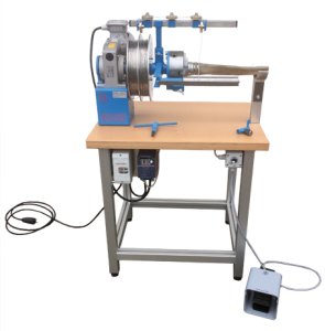 Máquina para racorar mangueras