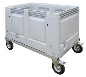 Carro de transporte para líquidos y sólidos