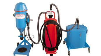 Máquinas para la recarga de extintores