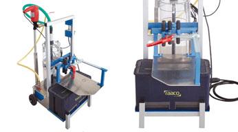Máquinas de trasvase de agua-espuma