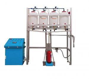 Máquina para el llenado de agua espuma - automática
